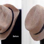 004 1 150x150 - 綿のように軽い!究極の手芸糸コットンラフィアで編んだ帽子!