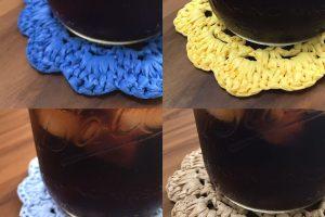 WechatIMG400 300x200 - 濡れても、汚れても、遠慮なく洗えるラフィア風手芸糸!! コースターで実践!