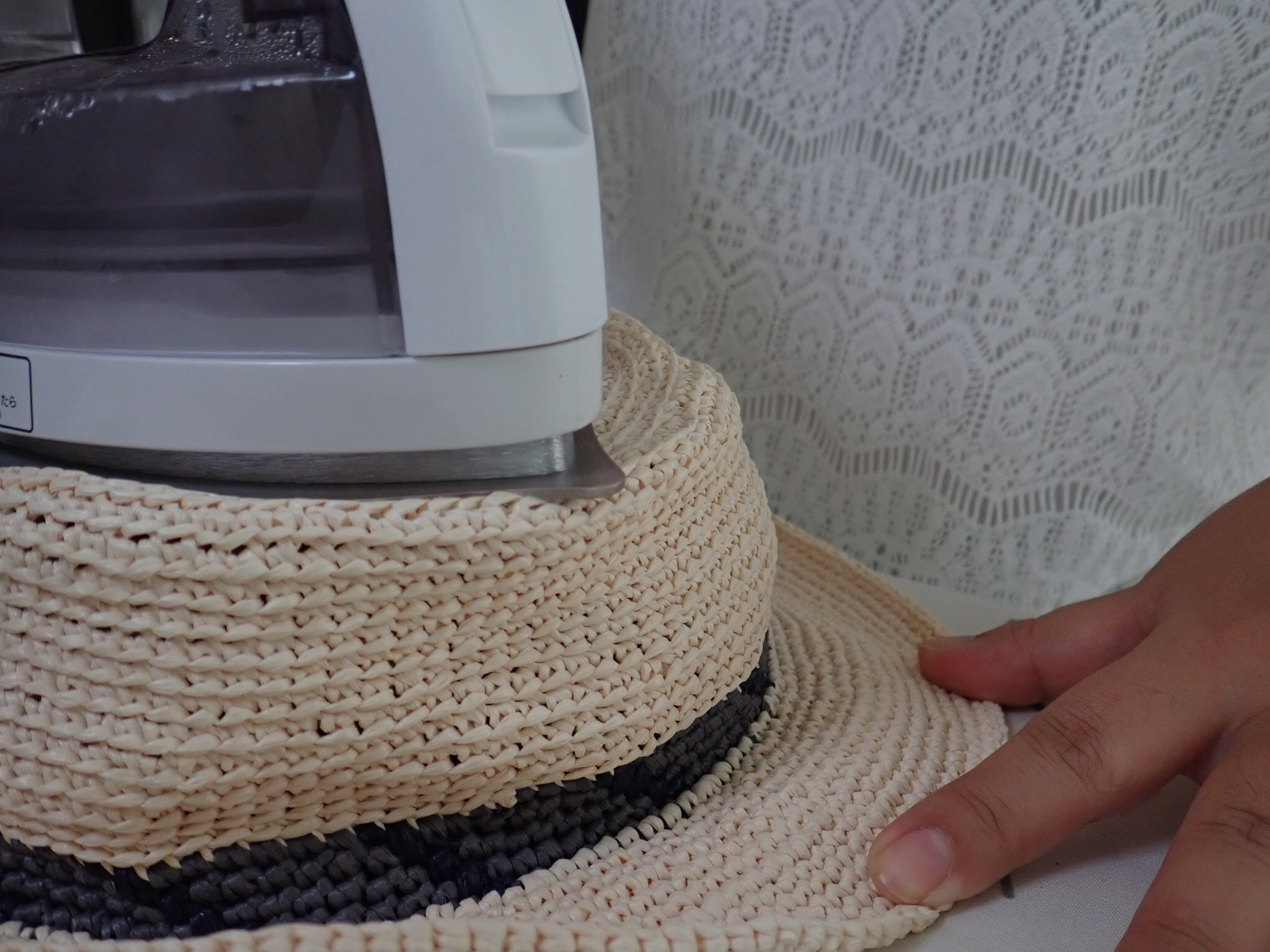 WechatIMG424 - 驚き!ぺしゃんこの帽子が簡単に復活!!一体どうやって!?